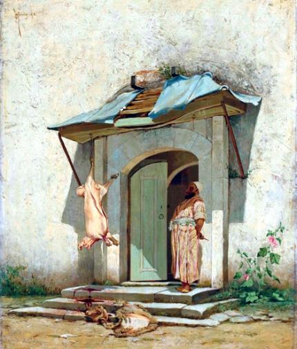 An Ottoman Butcher 1878