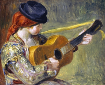 Girl with a Guitar