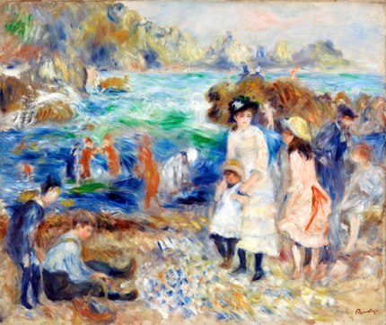 Children on the Seashore, Guernsey