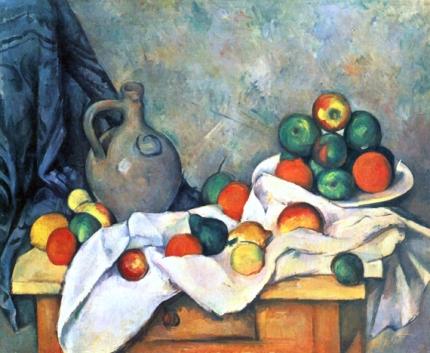 Jug, Curtain and Fruit Bowl