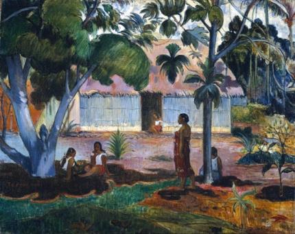 Te Raau Rahi (I) (The Large Tree)