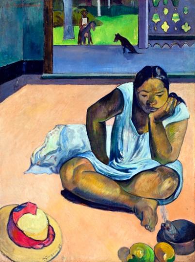 The Brooding Woman (Te Faaturuma)