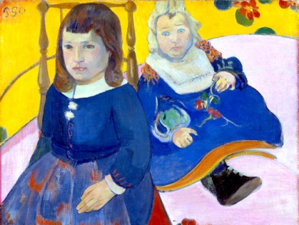 Portrait of Two Children (Paul and Jean Schuffenecker)