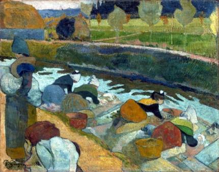 Washerwomen Arles 1888