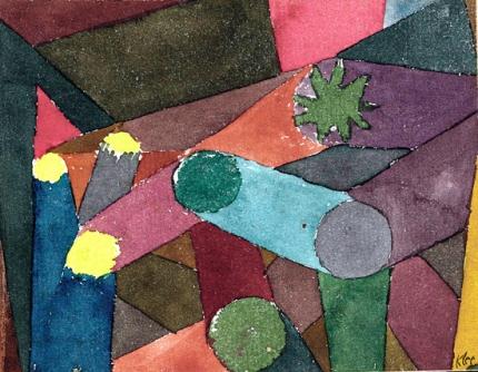 Abstract Garten Dämmerung