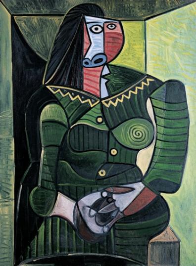 Femme En Vert (Dora)