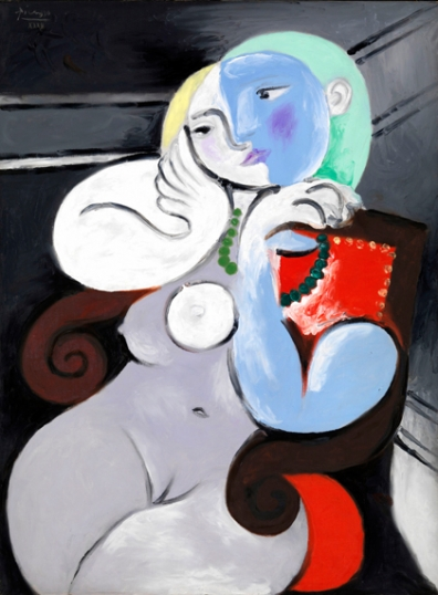 Nude Woman in a Red Armchair