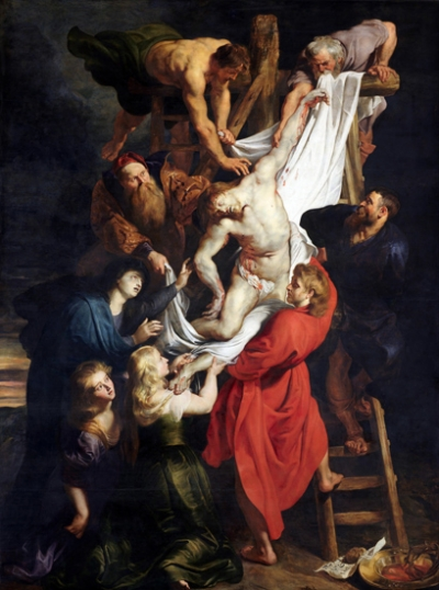 Descent from the Cross - Triptych - Center Panel
