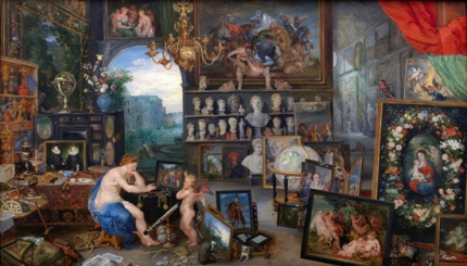 Allegory of Sight 1617