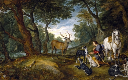 Miracle of Saint Hubert 1617