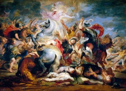 The death of Decius Mus
