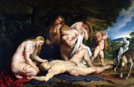 The death of Adonis 1614