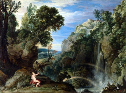 Landscape with Psyche and Jupiter 1610