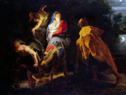 The Flight Into Egypt 1614
