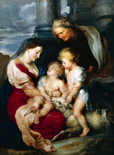 The Virgin and Child with Saint Elizabeth and Saint John the Baptist 1618