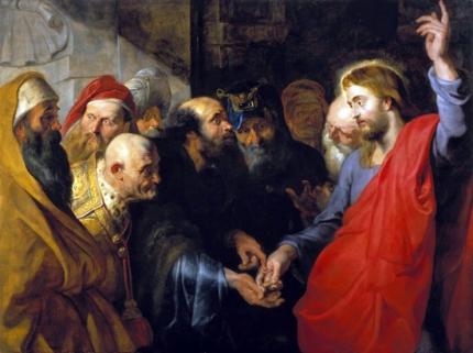 The Tribute Money 1612