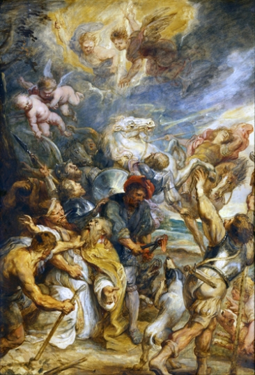 The Martyrdom of Saint Livinus
