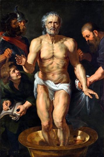 Seneca's death