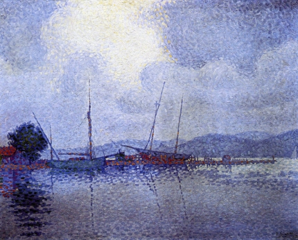 Saint Tropez After The Storm, 1895