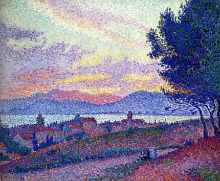 Saint Tropez. Sunset In The Pine Woods, 1896