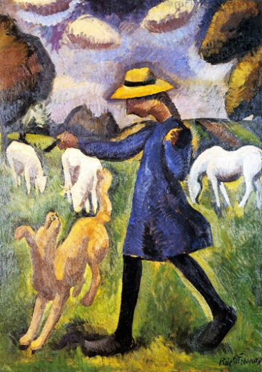 The Child Shepherdess Marie Ressort
