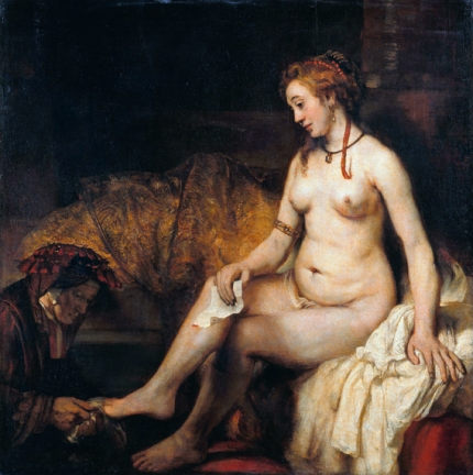 Bathsheba with David 1654