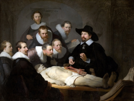 The Anatomy Lesson of Dr Nicolaes Tulp 1634