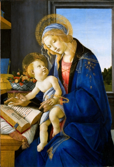 The Virgin and Child (The Madonna of the Book)