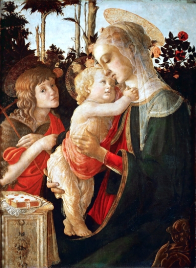 Virgin and Child with Young St John the Baptist