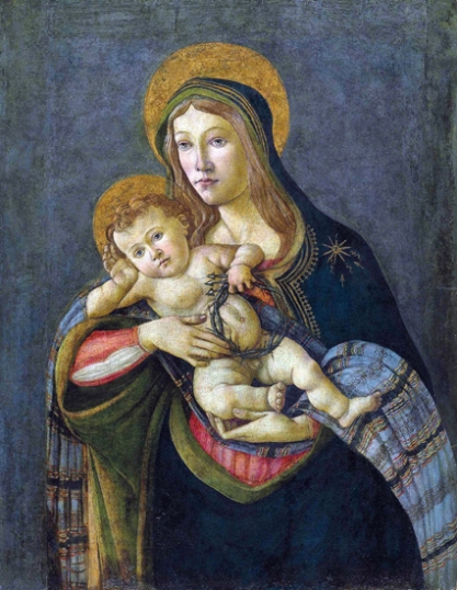 The Madonna and Child with the Crown of Thorns and three nails 1477