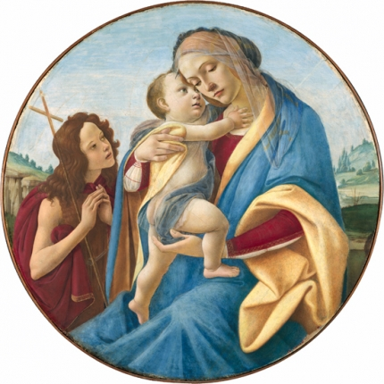 Virgin and Child with the Young Saint John the Baptist 1490