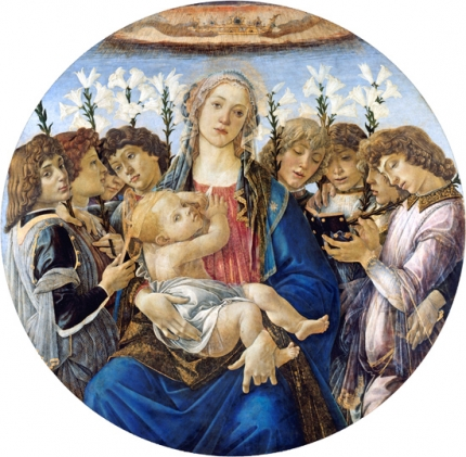 Mary with the Child and Singing Angels 1477