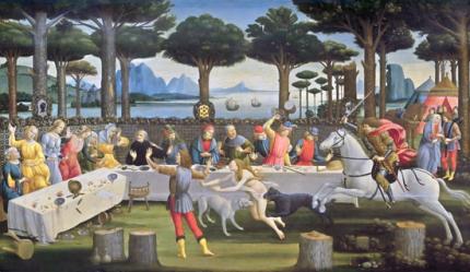 The Story of Nastagio degli Onesti III