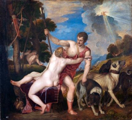 Venus and Adonis 1554