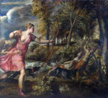 The Death of Actaeon 1559