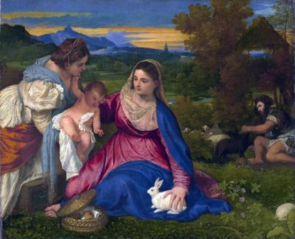Madonna of the Rabbit 1525