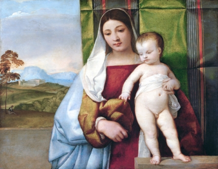 Gipsy Madonna 1510