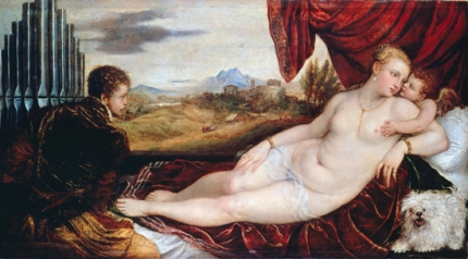 Venus with the Organ Player 1550