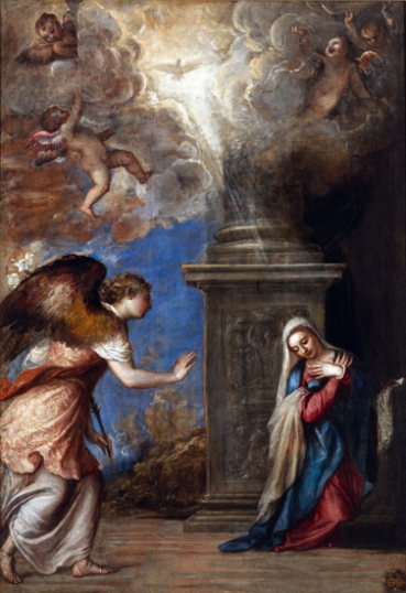 The Annunciation 1557