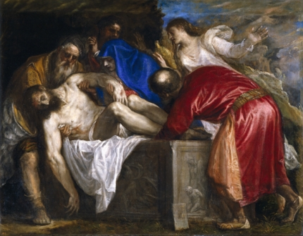 The Burial of Christ 1559