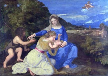 The Aldobrandini Madonna 1530