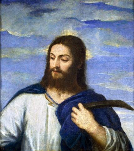 Christ, a gardener 1553