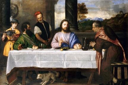 Pilgrims at Emmaus 1535