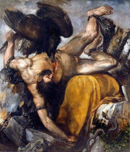 Punishment of Tityus 1565