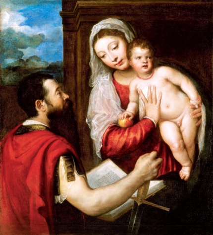 Virgin Mary with Child and St. Paul 1510