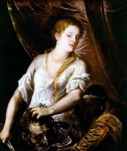 Judith with the Head of Holofernes 1570