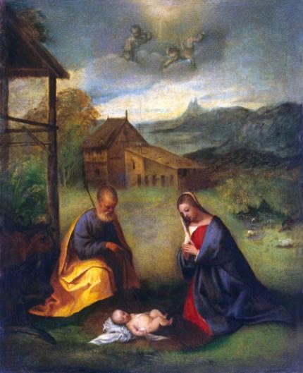 Adoration of the Christ Child 1506