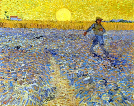 The Sower (Sower At Sunset) 1888