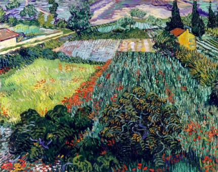 Field With Poppies 1889