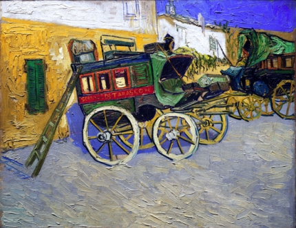 Tarascon Stagecoach (La Diligence De Tarascon) 1888